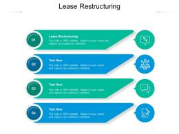 Lease Restructuring Ppt Powerpoint Presentation Gallery Example Cpb