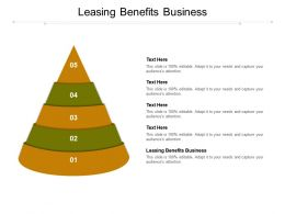 Leasing Benefits Business Ppt Powerpoint Presentation Icon Format Cpb