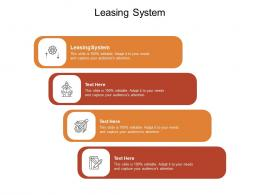 Leasing System Ppt Powerpoint Presentation Layouts Background Images Cpb