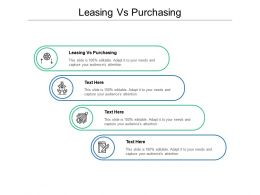 Leasing Vs Purchasing Ppt Powerpoint Presentation Model Layouts Cpb