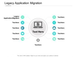Legacy Application Migration Ppt Powerpoint Presentation Summary Graphics Download Cpb
