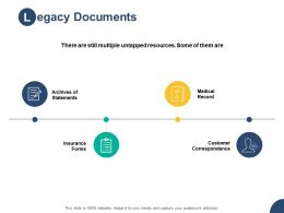 Legacy Documents Statements Ppt Powerpoint Presentation Pictures Format Ideas