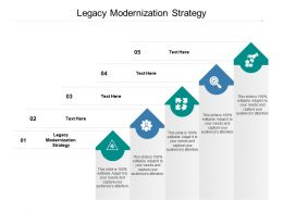Legacy Modernization Strategy Ppt Powerpoint Presentation Inspiration Graphics Download Cpb