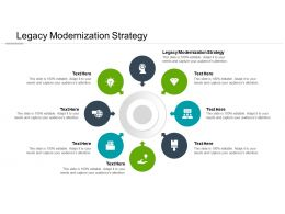 Legacy Modernization Strategy Ppt Powerpoint Presentation Visual Aids Cpb