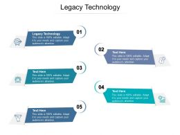 Legacy Technology Ppt Powerpoint Presentation Show Deck Cpb