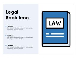 Legal Book Icon