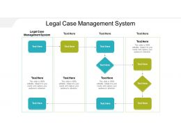 Legal Case Management System Ppt Powerpoint Presentation File Outline Cpb