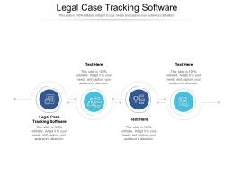 Legal Case Tracking Software Ppt Powerpoint Presentation Icon Deck Cpb