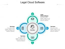 Legal Cloud Software Ppt Powerpoint Presentation Styles Background Designs Cpb