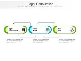 Legal Consultation Ppt Powerpoint Presentation Ideas Professional Cpb