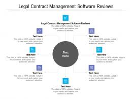 Legal Contract Management Software Reviews Ppt Powerpoint Presentation Styles Model Cpb