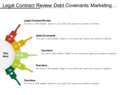 Legal Contract Review Debt Covenants Marketing Sales Legal Terms