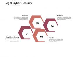 Legal Cyber Security Ppt Powerpoint Presentation Infographics Samples Cpb