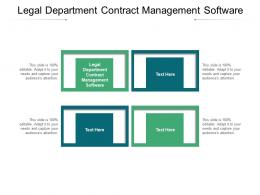 Legal Department Contract Management Software Ppt Powerpoint Presentation Infographics Pictures Cpb