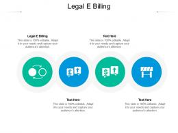Legal E Billing Ppt Powerpoint Presentation Infographic Template Topics Cpb