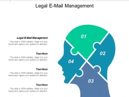 Legal E Mail Management Ppt Powerpoint Presentation Gallery Model