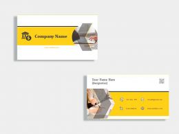 Legal Funding Business Card Template