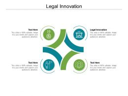 Legal Innovation Ppt Powerpoint Presentation Show Topics Cpb