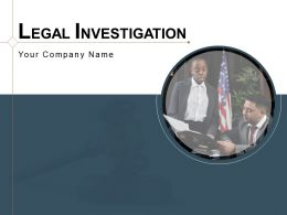 Legal Investigation Management Document Description Process Technique