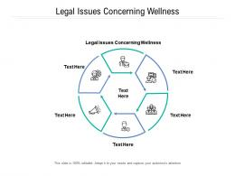 Legal Issues Concerning Wellness Ppt Powerpoint Presentation Show Images Cpb