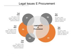 Legal Issues E Procurement Ppt Powerpoint Presentation File Templates Cpb
