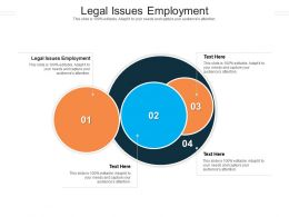 Legal Issues Employment Ppt Powerpoint Presentation Tips Cpb