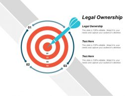 Legal Ownership Ppt Powerpoint Presentation Icon Diagrams Cpb