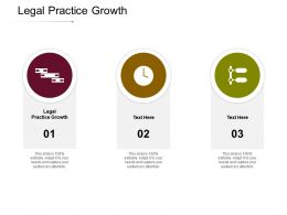 Legal Practice Growth Ppt Powerpoint Presentation File Example Topics Cpb