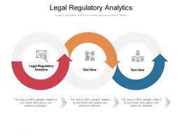 Legal Regulatory Analytics Ppt Powerpoint Presentation File Visuals Cpb