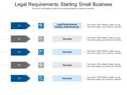 Legal Requirements Starting Small Business Ppt Powerpoint Presentation Model Themes Cpb