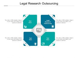 Legal Research Outsourcing Ppt Powerpoint Presentation Pictures Skills Cpb
