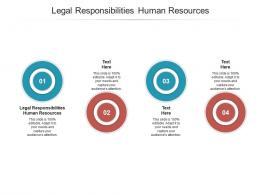 Legal Responsibilities Human Resources Ppt Powerpoint Presentation Gallery Templates Cpb