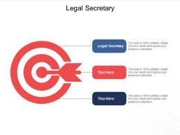 Legal Secretary Ppt Powerpoint Presentation Gallery Infographic Template Cpb