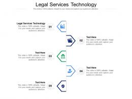 Legal Services Technology Ppt Powerpoint Presentation Pictures Guidelines Cpb