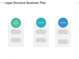 Legal Structure Business Plan Ppt Powerpoint Presentation Shapes Cpb