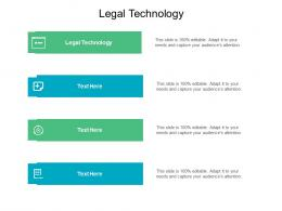Legal Technology Ppt Powerpoint Presentation Show Examples Cpb