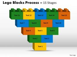Lego Blocks 15 Stages