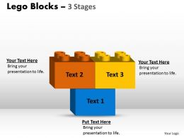 Lego Blocks 3 Stages