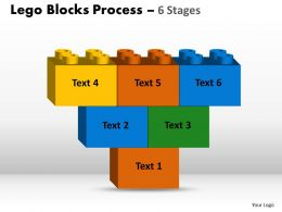 Lego Blocks 6 Stages