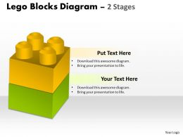 Lego Blocks Diagram 2 Stages