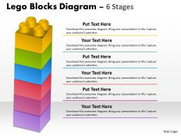 Lego Blocks Diagram 6 Stages