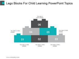 Lego Blocks For Child Learning Powerpoint Topics
