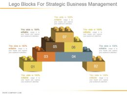 Lego Blocks For Strategic Business Management Ppt Examples Slides