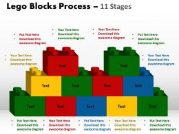 lego_blocks_process_11_stages_style_2_powerpoint_slides_and_ppt_templates_0412_Slide01