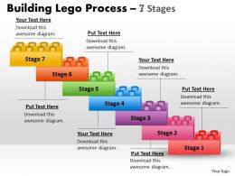 lego blocks process stages 8