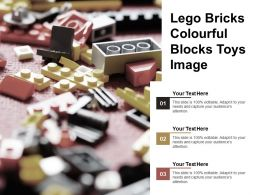 Lego Bricks Colourful Blocks Toys Image