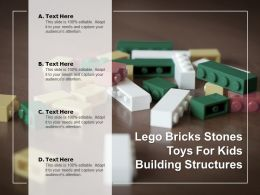 Lego Bricks Stones Toys For Kids Building Structures