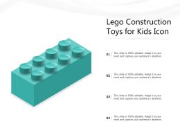 Lego Construction Toys For Kids Icon