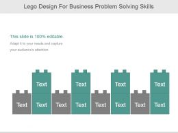 Lego Design For Business Problem Solving Skills
