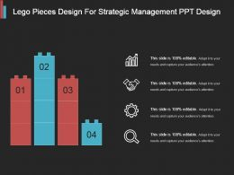 Lego Pieces Design For Strategic Management Ppt Design